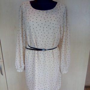 Taškuota suknelė su dirželiu, ATMOSPHERE, 44 dydis